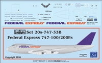 1:200 Federal Express Boeing 747-200F