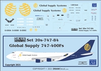 1:200 Global Supply Systems Boeing 747-400F