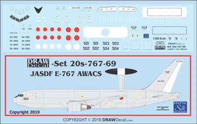 1:200 Japan Self Defence Force Boeing E-767 (767-200) AWACS