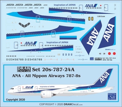 1:200 All Nippon Boeing 787-8