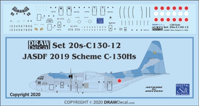 1:200 Japan Air Self Defence Force C-130H Hercules