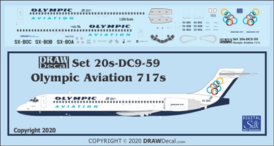 1:200 Olympic Aviation Boeing 717-200