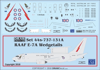 1:144 Royal Australian Air Force Boeing E-7A 'Wedgetail'