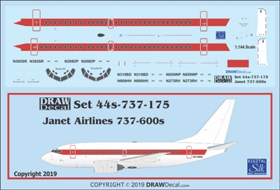 1:144 Janet Boeing 737-600