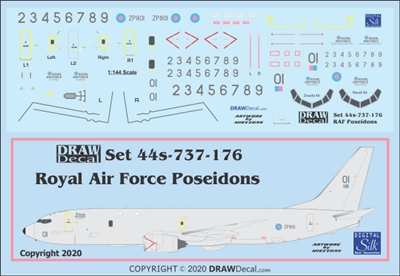 1:144 Royal Air Force Boeing P-8A Poseidon MRA1