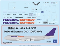 1:144 Federal Express Boeing 747-200F