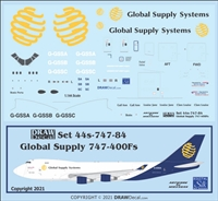 1:144 Global Supply Systems Boeing 747-400F
