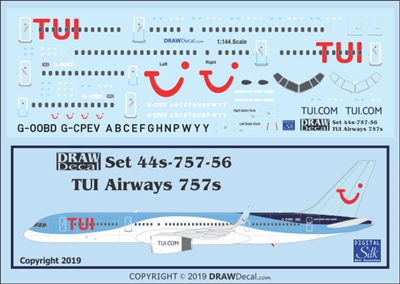 1:144 TUI Airways Boeing 757-200