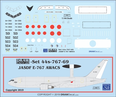 1:144 Japan Self Defence Force Boeing E-767 (767-200) AWACS