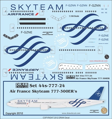 how to draw a boeing 777