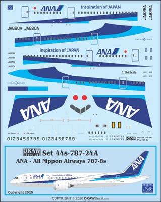 1:144 All Nippon Boeing 787-8
