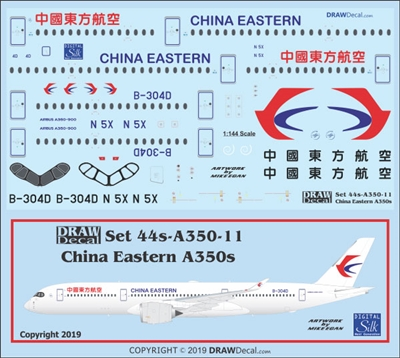 1:144 China Eastern Airbus A.350-900