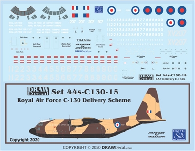 1:144 Royal Air Force C.130K Hercules C1