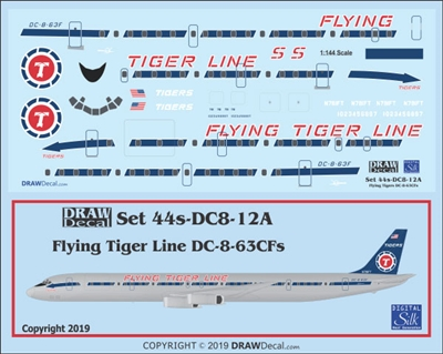 1:144 Flying Tiger Line Douglas DC-8-63CF