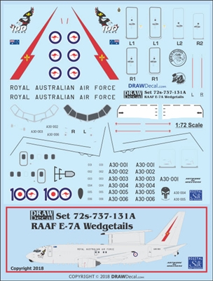 1:72 Royal Australian Air Force Boeing E-7A 'Wedgetail'