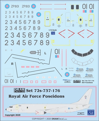 1:72 Royal Air Force Boeing P-8A Poseidon MRA1