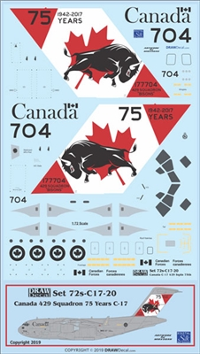 1:72 Canadian Armed Forces '429 Sq Anniversary cs' CC-177 / McDD C.17A Globemaster III