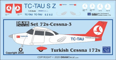 1:72 Turkish Airlines Cessna 172
