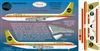1:144 Continental Airlines Boeing 707-320B