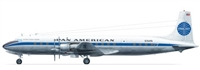 1:144 Douglas DC-7C, Pan Am (meatball cs) (CSP)