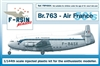 1:144 Breugets 763 Deux Ponts, Air France (1950's cs)