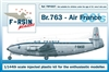 1:144 Breugets 763 Deux Ponts, Air France (1960's cs)