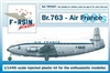 1:144 Breugets 763 Deux Ponts, Air France (1960's cs) (CSP)