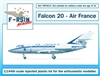 1:144 Dassault Falcon 20, Air France