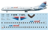 1:144 Se.210 Caravelle 12, Air Inter (1990's cs)