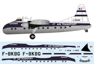 1:144 Bristol 170 Super Freighter Mk.32, Compagnie Air Transport