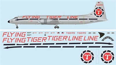 1:144 Canadair CL-44D, Flying Tiger Line