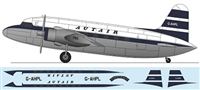 1:144 Vickers VC-1 Viking 1A, Autair