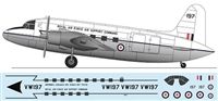 1:144 Vickers VC-1 Valetta, Royal Air Force