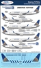 1:144 Continental Airlines & United Airlines Boeing 737NG (-700 / -800 / -900)