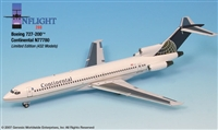 1:200 Boeing 727-200, Continental Airlines