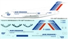 1:144 Air France (later cs) Fokker F.28-1000