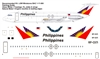 1:144 Philippines BAC 1-11-500