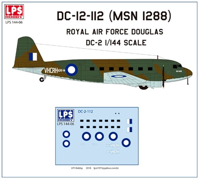 1:144 Royal Australian Air Force Douglas DC-2