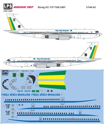 1:144 F.A. Brazilia (Brazilian Air Force) Boeing 707-320B