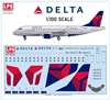 1:100 Delta Connection Embraer 175