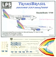 1:144 TransBrasil (final cs) Boeing 737-300/-400