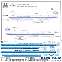 1:144 KLM (delivery cs) Boeing 747-206B