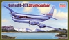 1:144 Boeing 377 Stratocruiser, United Airlines