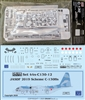 1:144 Minicraft Lockheed C.130A/E/H/J Hercules Kit + DRAW JASDF (blue camo cs)  C.130H Hercules Decal