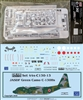 1:144 Minicraft Lockheed C.130A/E/H/J Hercules Kit + DRAW JASDF (green camo cs)  C.130H Hercules Decal