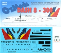 1:144 DHC-8-300, Philippine Airlines
