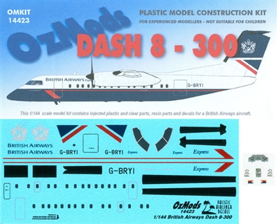 1:144 DHC-8-300, British Airways