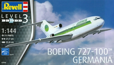 1:144 Boeing 727-100, Germania