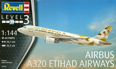 1:144 Airbus A.320, Etihad Airways