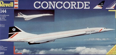 1:144 BAC Sud Concorde, British Airways, Air France